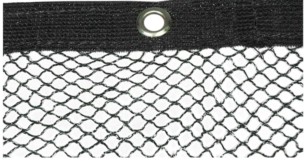 Teichnetz Löcher zur Befestigung